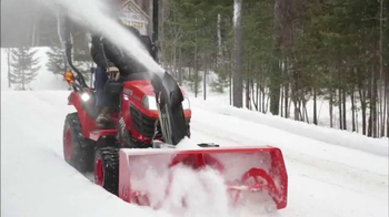 Kubota Get Set to Save Sales Event TV Spot, 'Tractors and Snow Equipment'