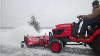 Kubota Get Set to Save Sales Event TV Spot, 'Tractors and Snow Equipment' - Thumbnail 4
