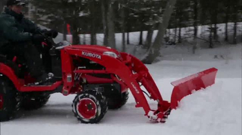Kubota Get Set to Save Sales Event TV Spot, 'Tractors and Snow Equipment' - Thumbnail 6