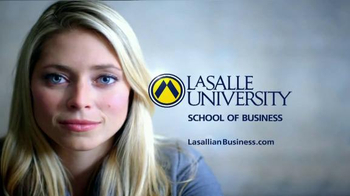La Salle University School of Business TV Spot, 'Acquire New Skills' - Thumbnail 4