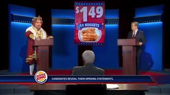 Burger King Chicken Nuggets TV Spot, 'Debate Reaction 2' - Thumbnail 2
