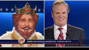 Burger King Chicken Nuggets TV Spot, 'Debate Reaction 2'