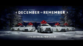 The Lexus December to Remember Sales Event TV Spot, 'Racetrack: IS 300' - Thumbnail 7