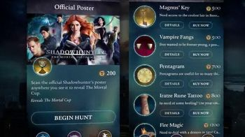 Shadowhunters: Join the Hunt App TV Spot, 'Exclusive Content'