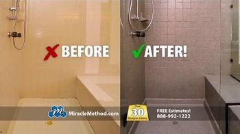 Miracle Method TV Spot, 'Ugly Bathtub or Shower'
