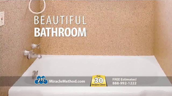 Miracle Method TV Spot, 'Ugly Bathtub or Shower' - Thumbnail 3