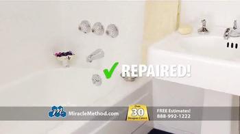 Miracle Method TV Spot, 'Ugly Bathtub or Shower' - Thumbnail 4