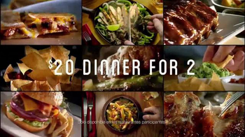 Chili's $20 Dinner for Two TV Spot, 'Más opciones' [Spanish] - Thumbnail 6