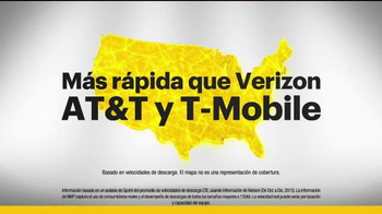 Sprint 4G LTE TV Spot, 'Mejor por menos' [Spanish] - Thumbnail 3