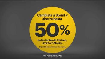 Sprint 4G LTE TV Spot, 'Mejor por menos' [Spanish] - Thumbnail 6