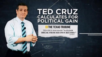 Conservative Solutions PAC TV Spot, \'Calculated: Ted Cruz\'