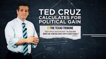 Conservative Solutions PAC TV Spot, 'Calculated: Ted Cruz' - 43 commercial airings