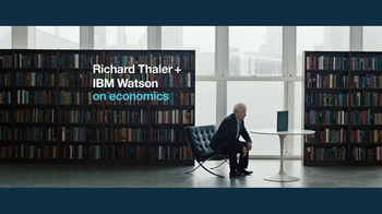IBM Watson TV Spot, 'Richard Thaler + IBM Watson on Behavioral Economics' - Thumbnail 2