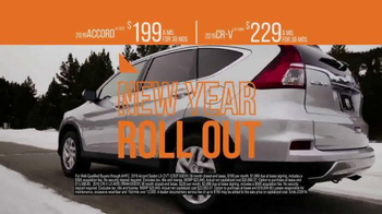 The Honda New Year Roll Out TV Spot, 'The 2016 Civic' - Thumbnail 9
