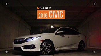 The Honda New Year Roll Out TV Spot, 'The 2016 Civic' - Thumbnail 3