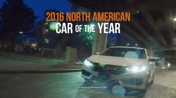 The Honda New Year Roll Out TV Spot, 'The 2016 Civic' - Thumbnail 4