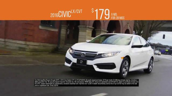 The Honda New Year Roll Out TV Spot, 'The 2016 Civic' - Thumbnail 5