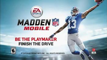 Madden NFL Mobile TV Spot, 'Seattle Seahawks vs. Carolina Panthers' - Thumbnail 8