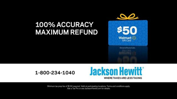 Jackson Hewitt TV Spot, 'Talking Taxes' - Thumbnail 4