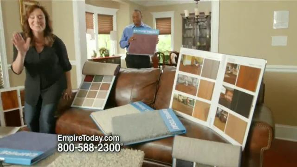 Empire Today 60 Percent Off Sale Tv Commercial New Floors Video