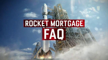 Quicken Loans Rocket Mortgage TV Spot, 'FAQ #8 Easy'