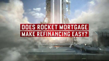 Quicken Loans Rocket Mortgage TV Spot, 'FAQ #8 Easy' - Thumbnail 3