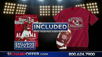 Sports Illustrated Championship Package TV Spot, 'Alabama Crimson Tide' - Thumbnail 2