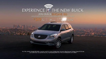 2016 Buick Enclave TV Spot, 'Inside Tina's New Buick' - Thumbnail 10