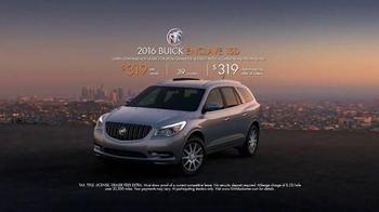 2016 Buick Enclave TV Spot, 'Inside Tina's New Buick' - Thumbnail 8