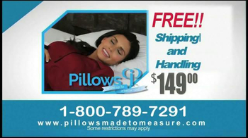 Pillows Made to Measure TV Spot, 'Better Night's Sleep' - Thumbnail 9