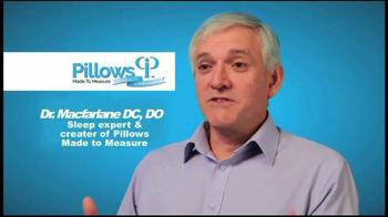 Pillows Made to Measure TV Spot, 'Better Night's Sleep' - Thumbnail 3