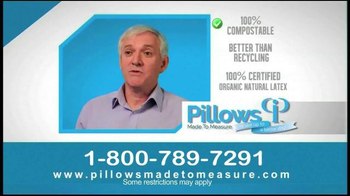 Pillows Made to Measure TV Spot, 'Better Night's Sleep' - Thumbnail 8