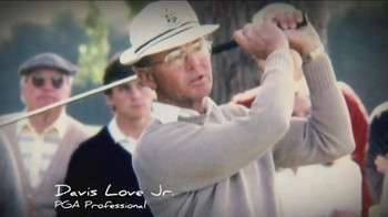 PGA TV Spot, 'Thanks' Featuring Davis Love III