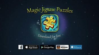 Magic Jigsaw Puzzles App TV Spot, 'Animals & Landscapes' - Thumbnail 8