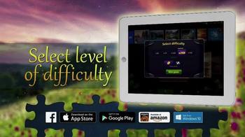 Magic Jigsaw Puzzles App TV Spot, 'Animals & Landscapes' - Thumbnail 4