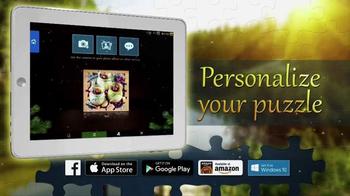 Magic Jigsaw Puzzles App TV Spot, 'Animals & Landscapes' - Thumbnail 5
