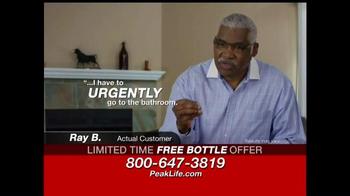 Peak Life Prostate TV Spot, 'Aging' - Thumbnail 7