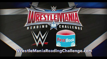 First Book TV Spot, 'WrestleMania Reading Challenge' - Thumbnail 8
