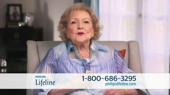 Philips Lifeline TV Spot, 'Peace of Mind' Feat. Betty White & Leeza Gibbons - 497 commercial airings