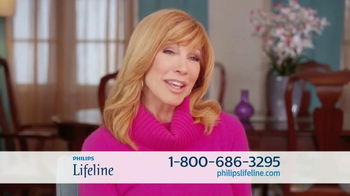 Philips Lifeline TV Spot, 'Peace of Mind' Feat. Betty White & Leeza Gibbons - Thumbnail 1