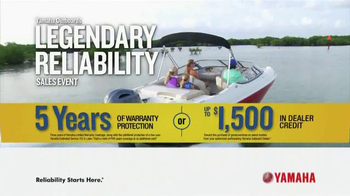 Yamaha Outboards Legendary Reliability Sales Event TV Spot, 'Greater Value' - Thumbnail 10