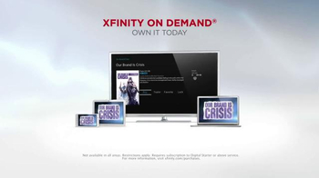XFINITY On Demand TV Spot, 'Our Brand Is Crisis' - Thumbnail 7