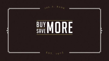 JoS. A. Bank Buy More Save More Sale TV Spot, 'Suits and Sportcoats' - Thumbnail 1