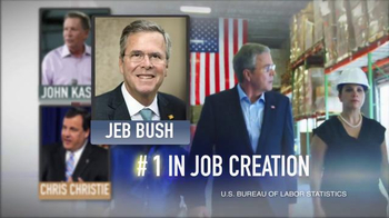 Right to Rise USA TV Spot, 'Three Governors' Featuring Jeb Bush - Thumbnail 3