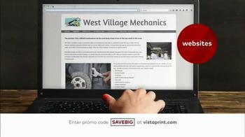 Vistaprint Semi-Annual Sale TV Spot, 'Banners, Postcards and Websites' - Thumbnail 5