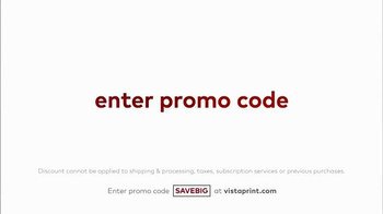 Vistaprint Semi-Annual Sale TV Spot, 'Banners, Postcards and Websites' - Thumbnail 7