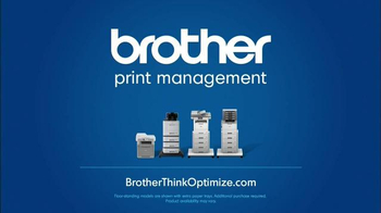 Brother Office TV Spot, 'Think Optimize: Work More, Wander Less' - Thumbnail 9