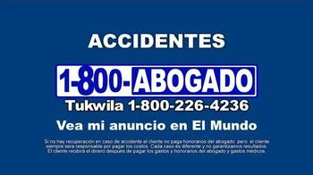 1-800-ABOGADO TV Spot, 'Cualquier accidente' [Spanish] - Thumbnail 10