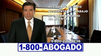 1-800-ABOGADO TV Spot, 'Cualquier accidente' [Spanish] - Thumbnail 8