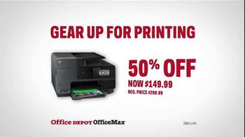Office Depot TV Spot, 'Gearcentric: Jolt of Confidence - HP Printer' - Thumbnail 8